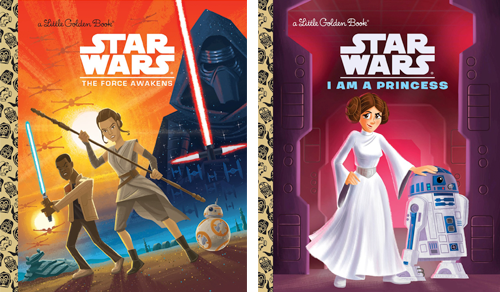 Stars Wars Golden Books